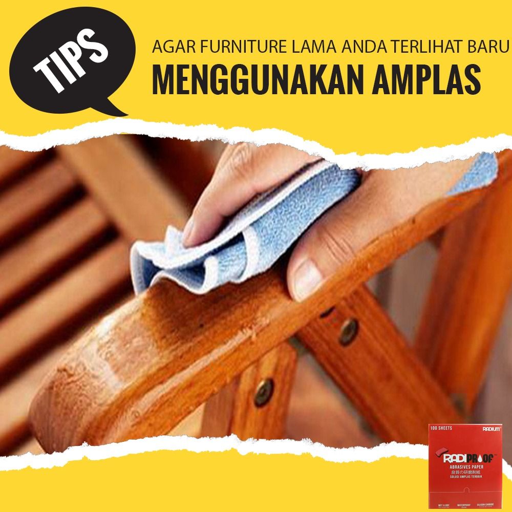 Tips Agar Furniture Lama Anda Terlihat Baru